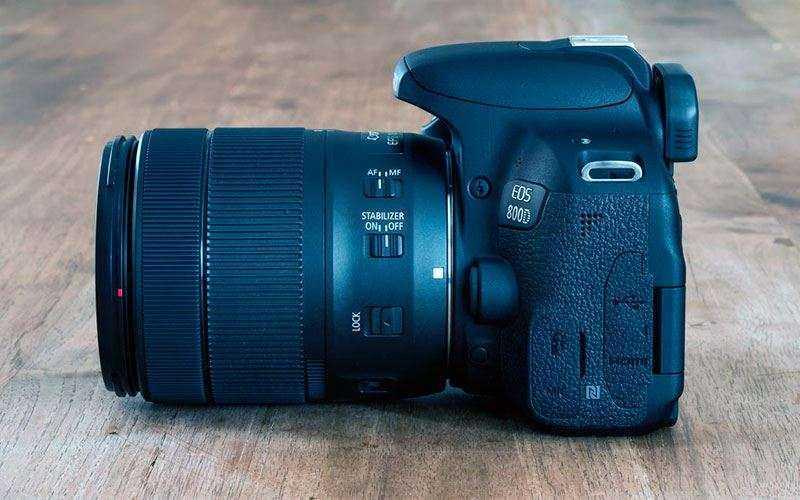 Canon EOS 800D — Обзор улучшенной в производительности и автофокусировке камеры