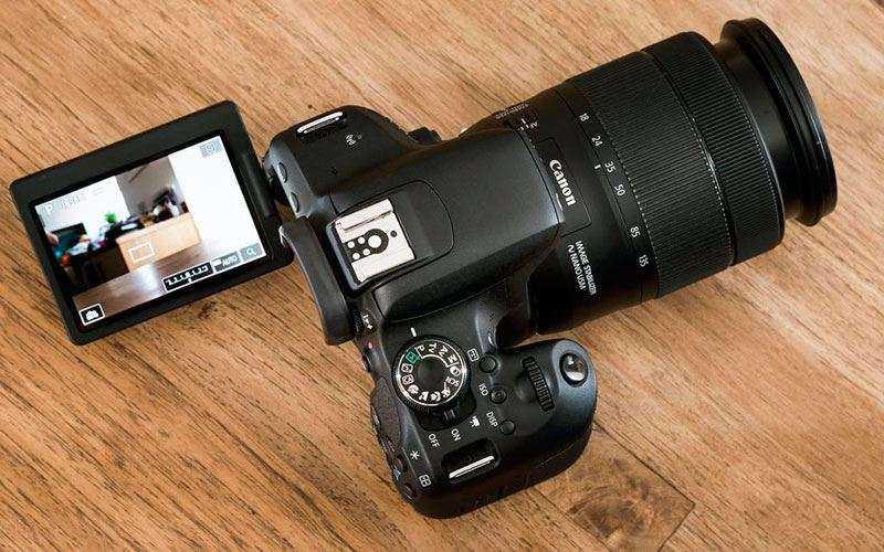 Canon EOS 800D характеристики