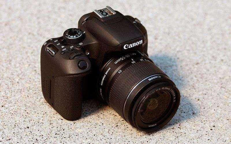 Дизайн Canon EOS 800D