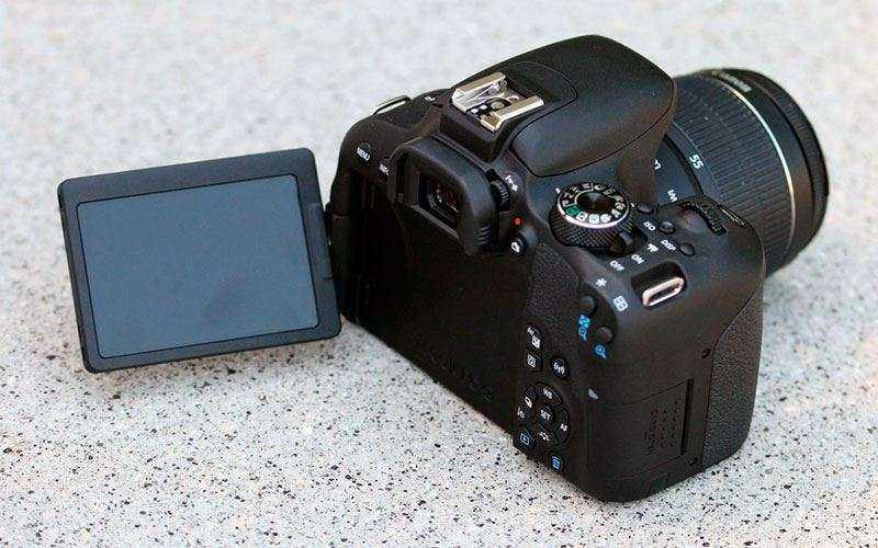 Управление Canon EOS 800D