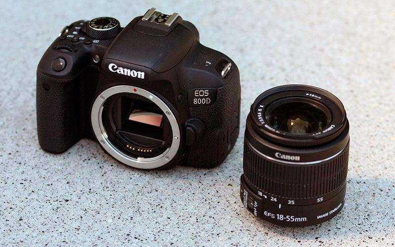 Объектив Canon EOS 800D