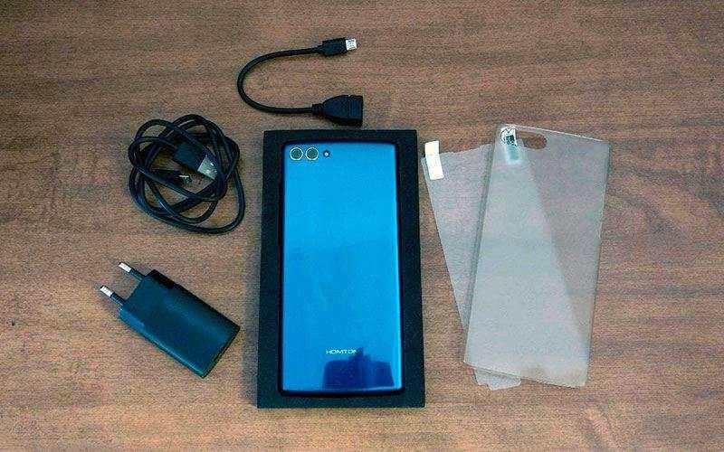 HomTom S9 Plus из коробки