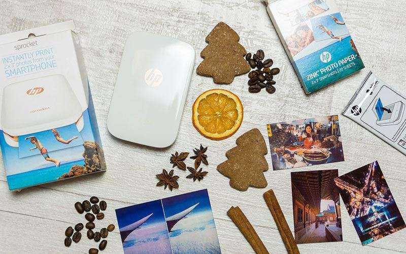 Фотопринтер HP Sprocket — Обзор устройства для мобильной печати