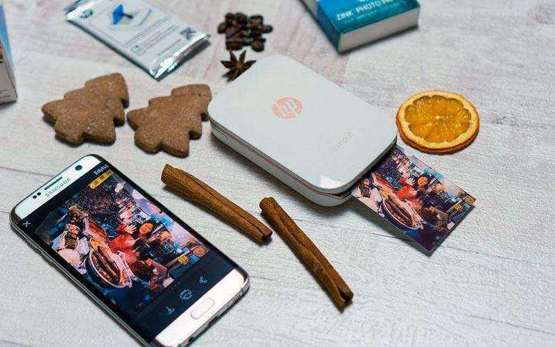 Обзор HP Sprocket — Фотопринтер для мобильной печати без кабелей