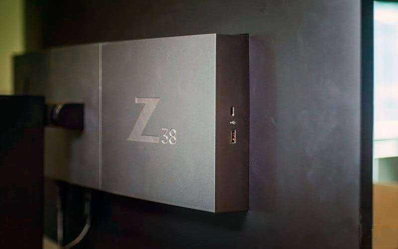 Порты HP Z38c