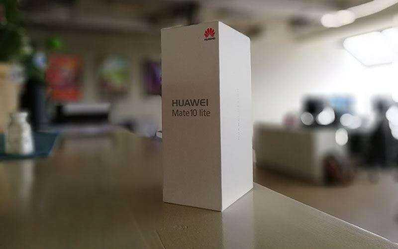 Huawei Mate 10 Lite фото