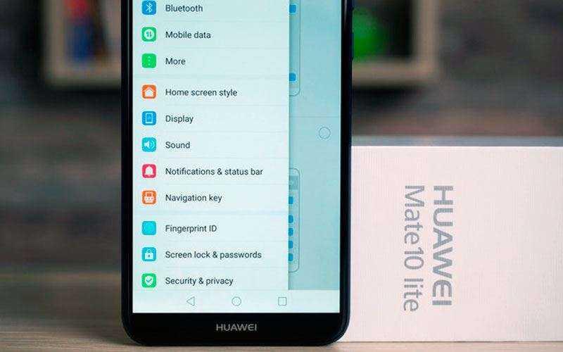 ОС Huawei Mate 10 Lite