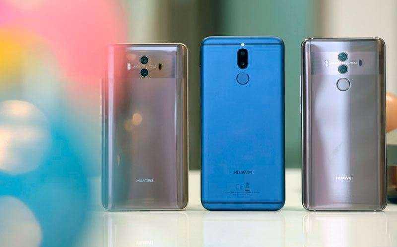 Huawei Mate 10 Lite съёмка видео