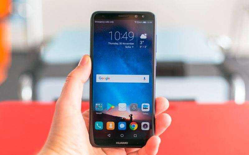 Производительность Huawei Mate 10 Lite