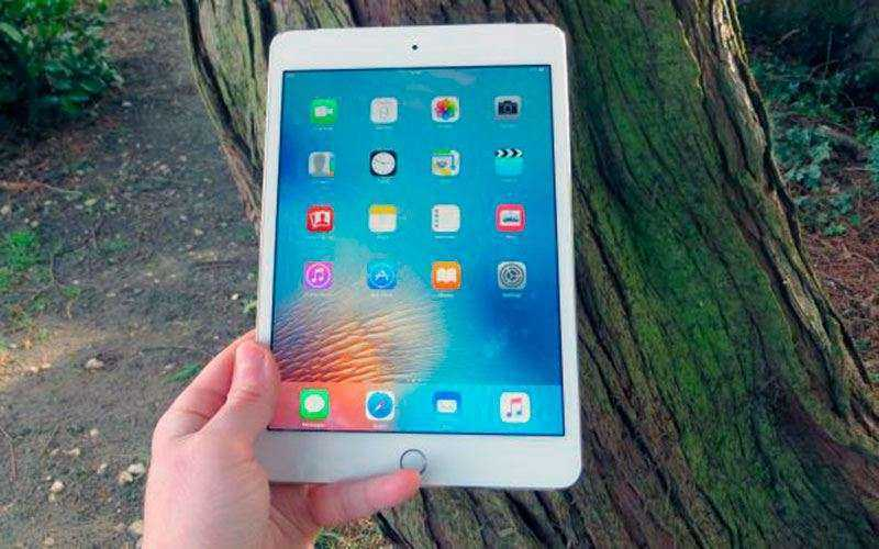 Дизайн Apple iPad Mini 4