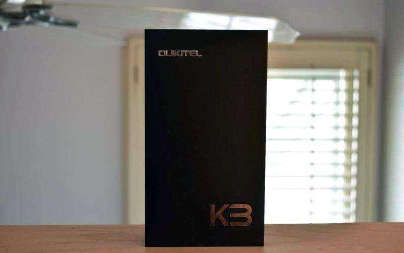 OUKITEL K3 из коробки