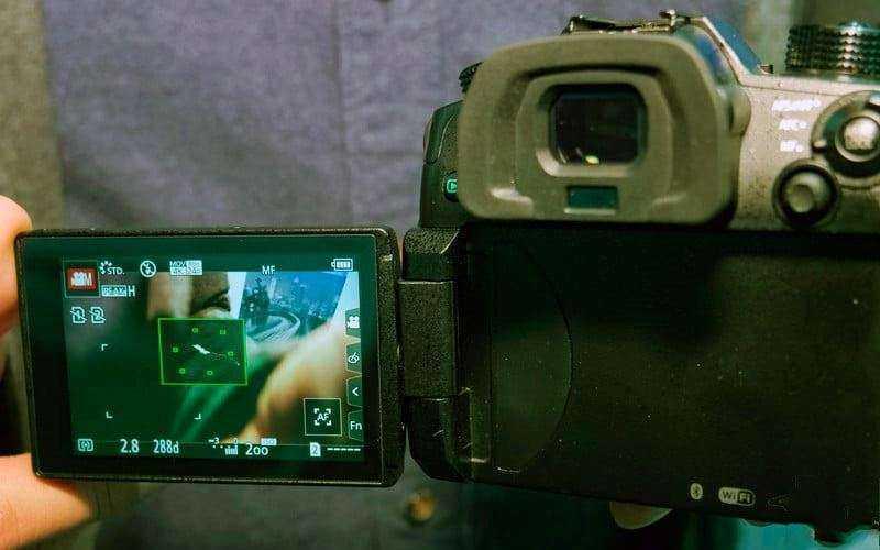 Panasonic Lumix GH5S съёмка видео