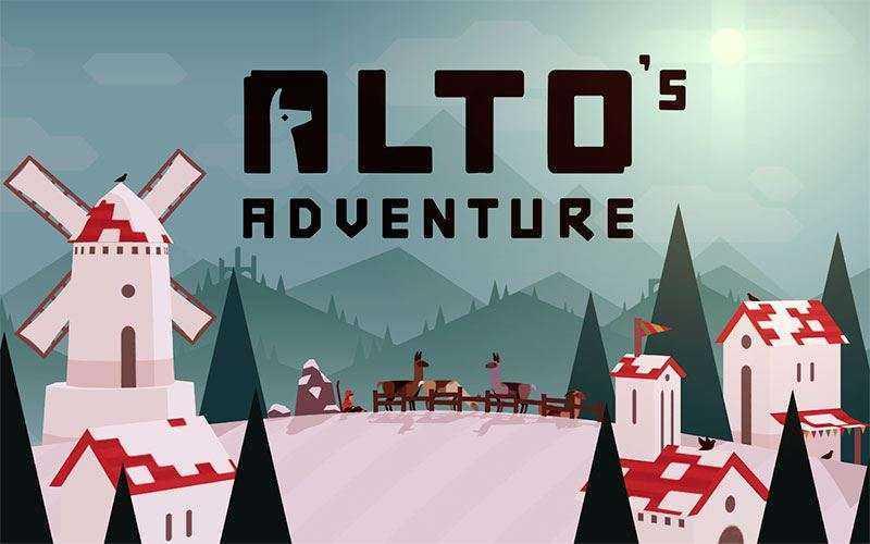 Игра Alto's Adventure