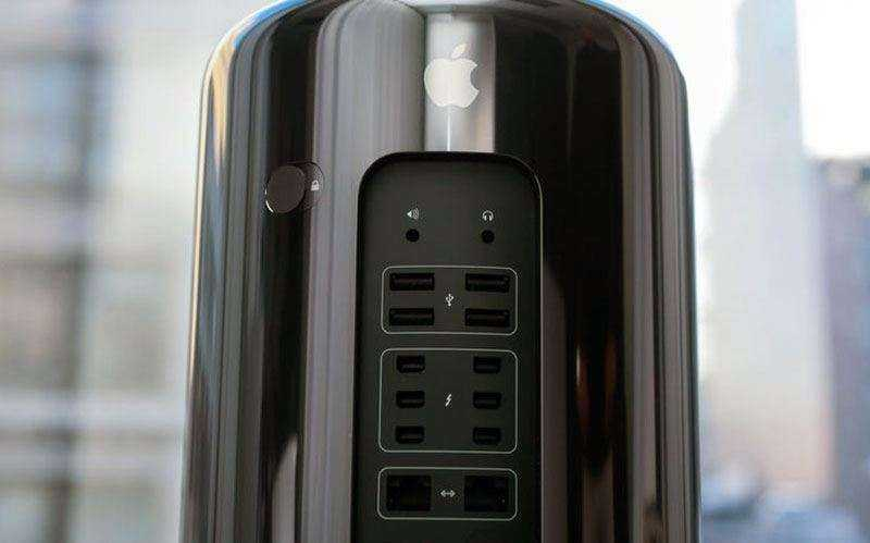 Разъёмы Apple Mac Pro