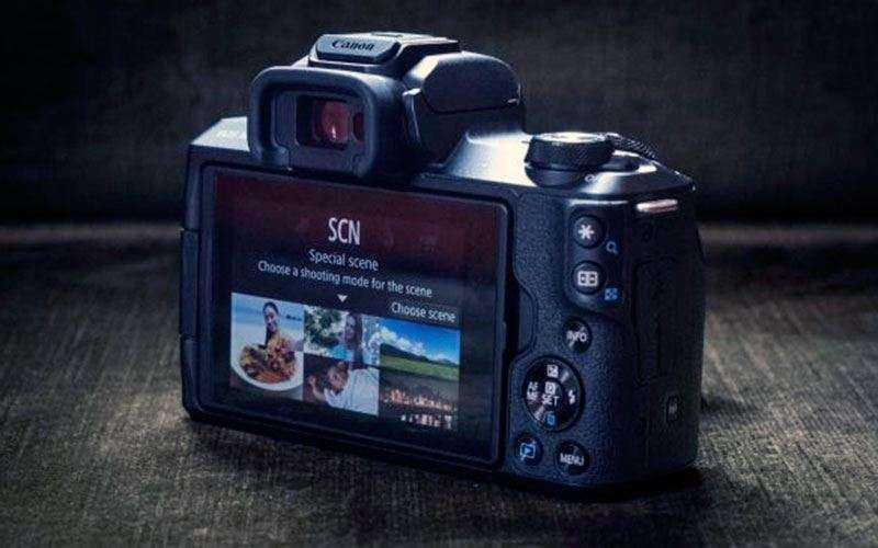 Экран Canon EOS M50