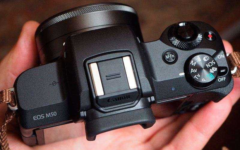 Настройки Canon EOS M50
