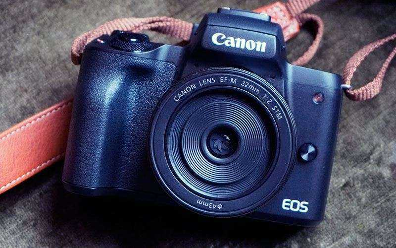Дизайн Canon EOS M50