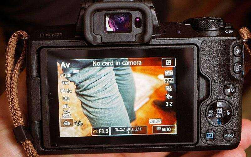 Автофокус Canon EOS M50