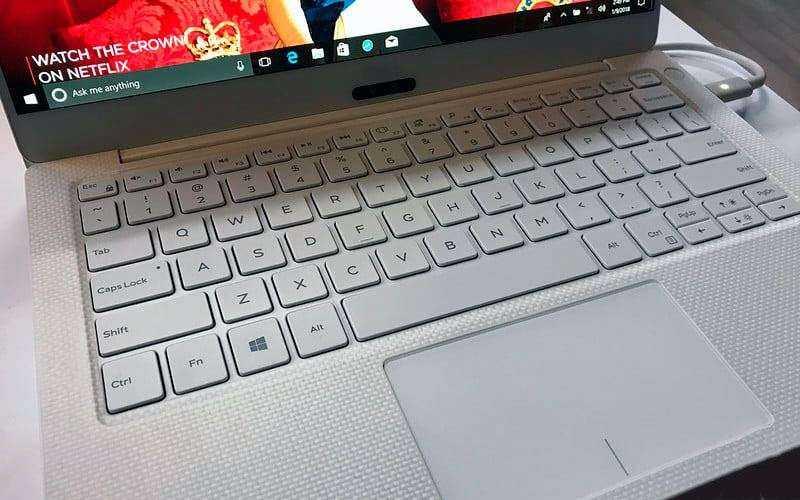 Клавиатура Dell XPS 13 9370 и трекпад