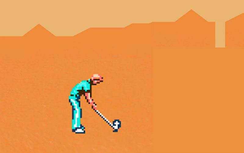 Игра Desert Golfing