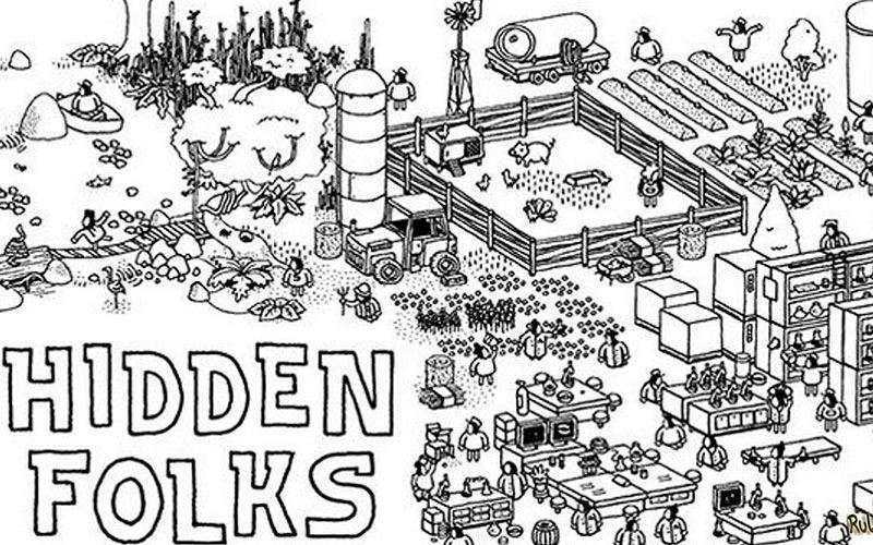 Игра Hidden Folks