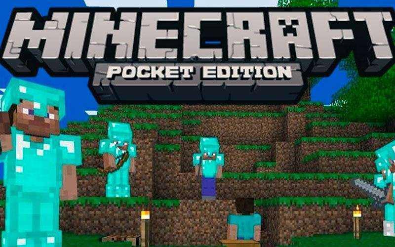 Игра Minecraft для мобильного