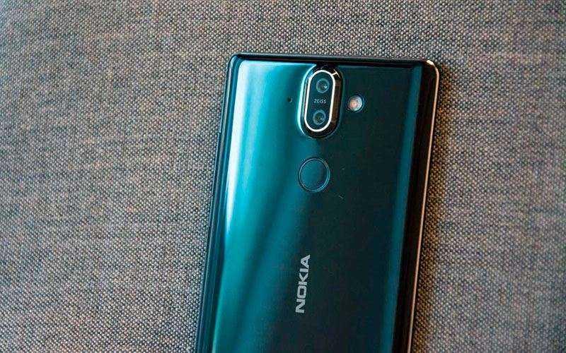 Камеры Nokia 8 Sirocco