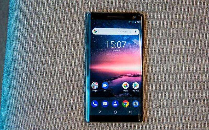 ОС Nokia 8 Sirocco