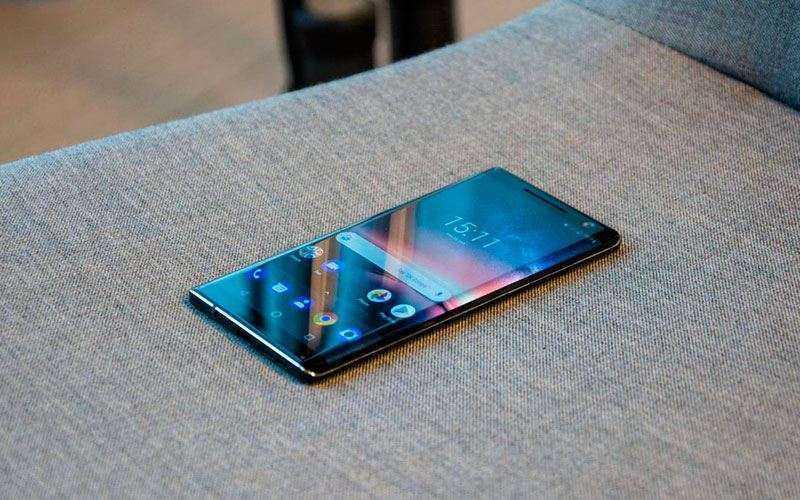 Nokia 8 Sirocco обзор