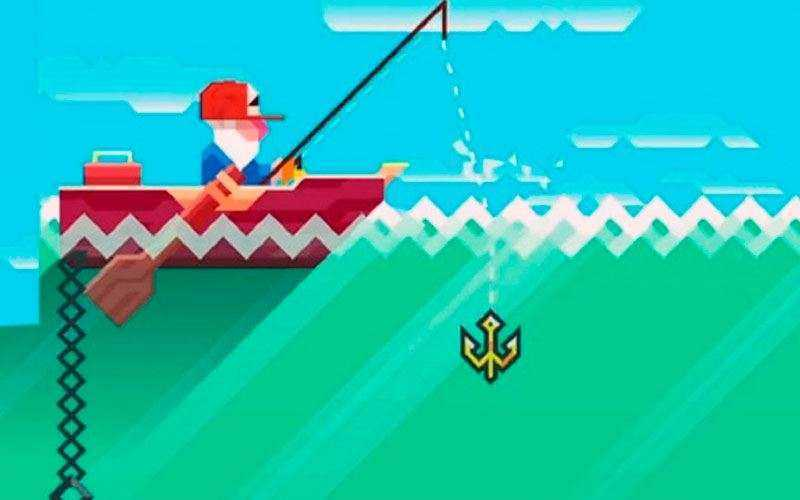 Игра Ridiculous Fishing
