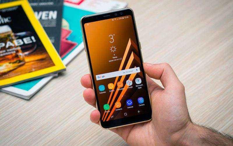 Дизайн Samsung Galaxy A8 2018