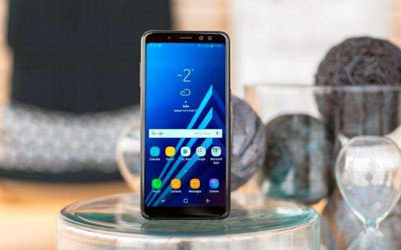 Экран Samsung Galaxy A8