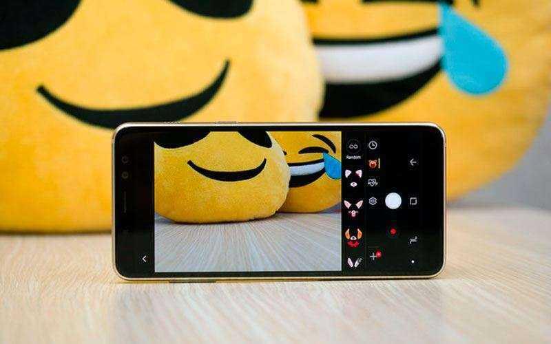 Камеры Samsung Galaxy A8 2018