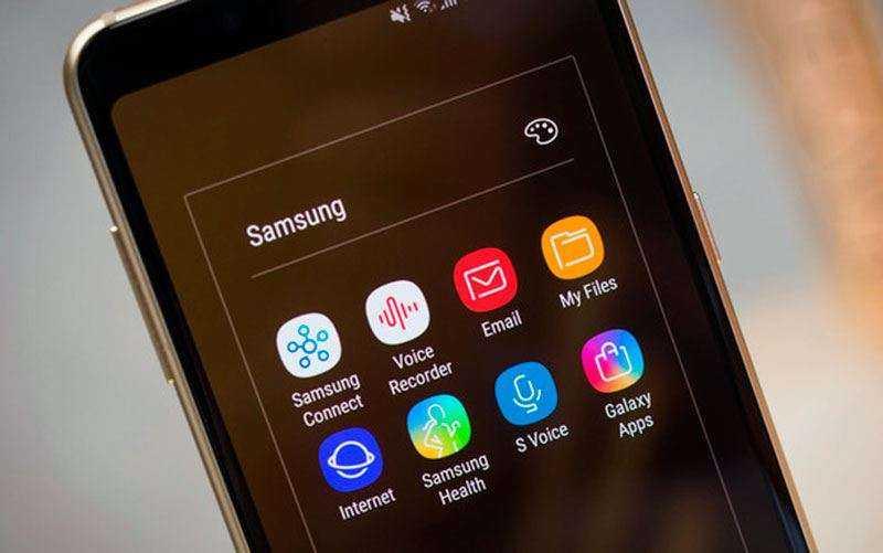 Интерфейс Samsung Galaxy A8 2018