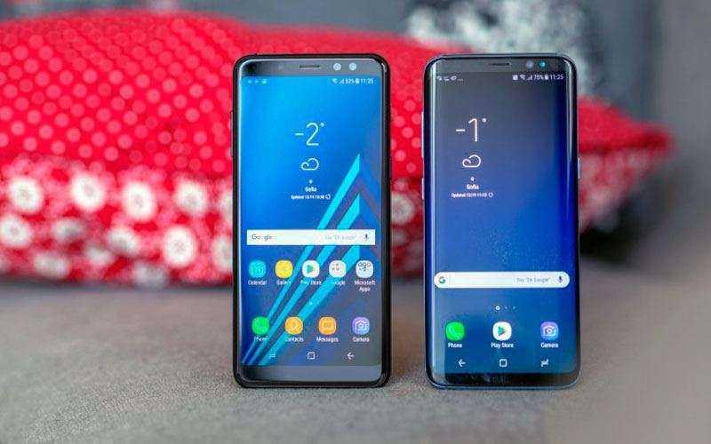 Samsung Galaxy A8 внешний вид