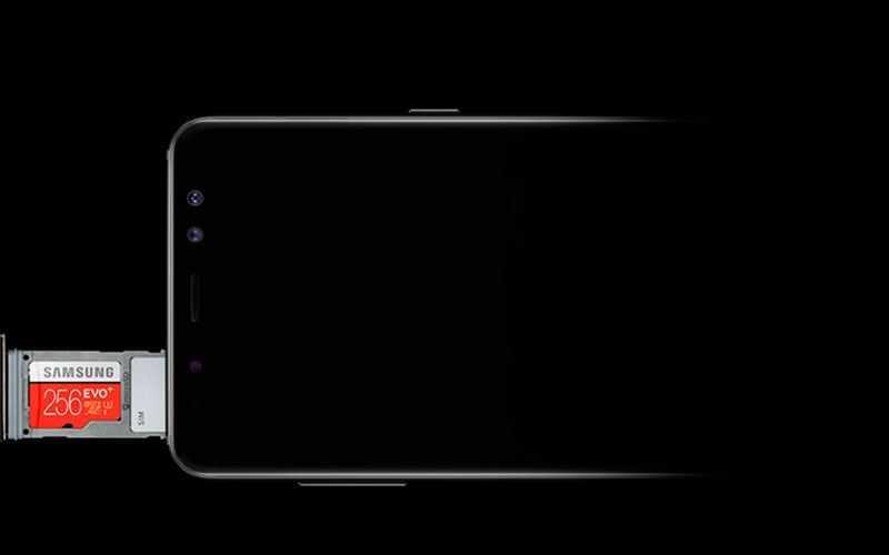 Подключения в Samsung Galaxy A8 2018
