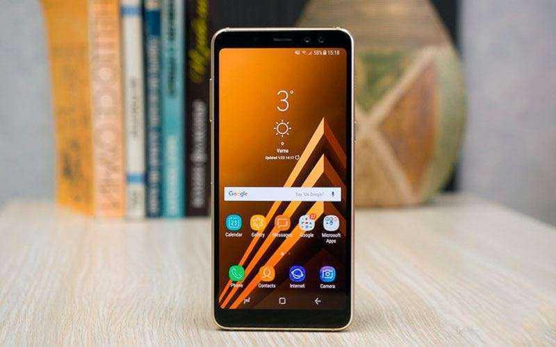 Обзор Samsung Galaxy A8 2018