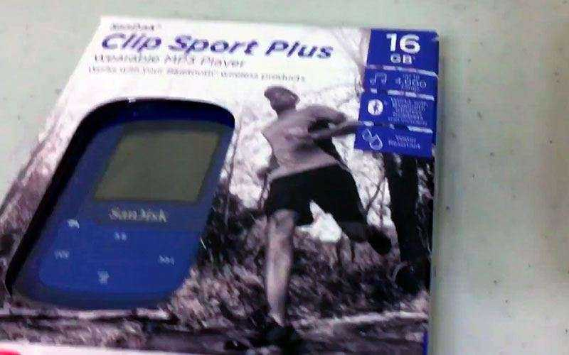 Плеер SanDisk Clip Sport Plus