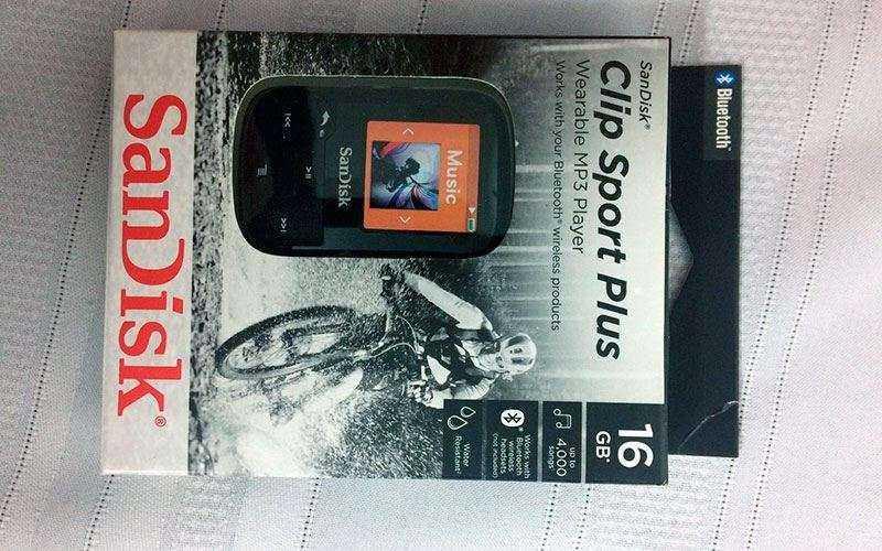 Что это SanDisk Clip Sport Plus?