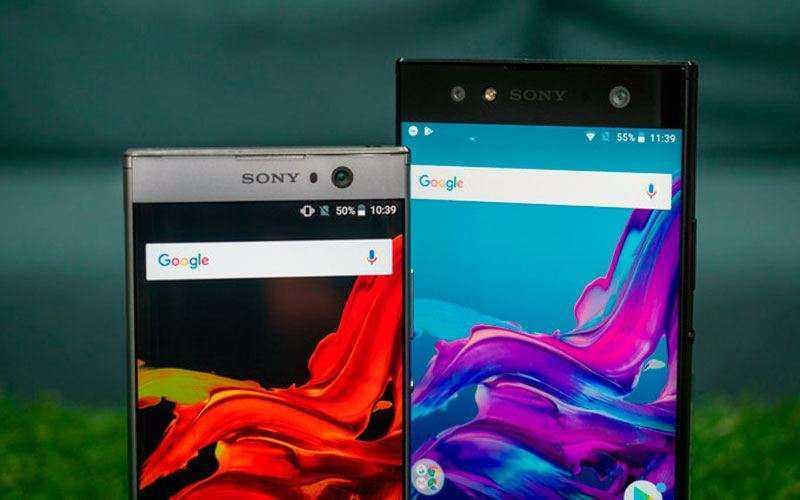Дизайн Sony Xperia XA2 и Xperia XA2 Ultra