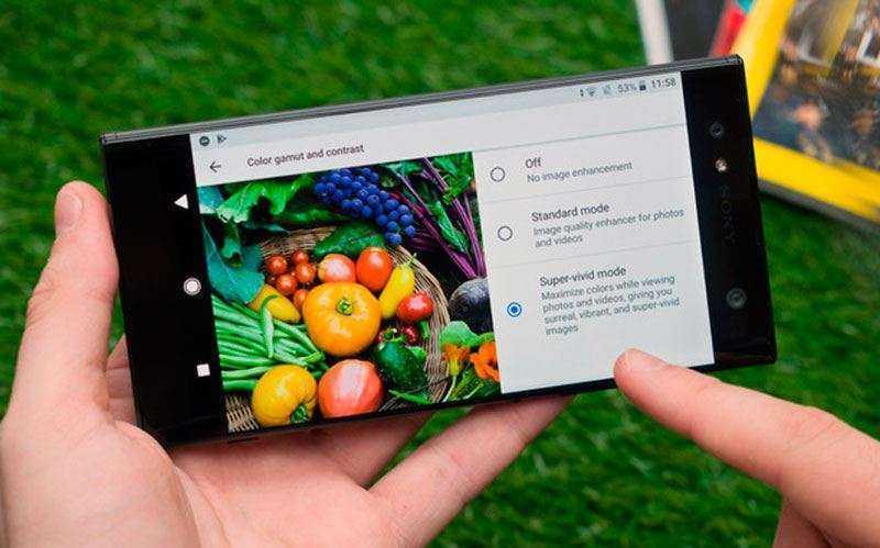 Экран Sony Xperia XA2 и Xperia XA2 Ultra