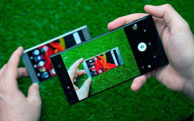 Камеры Sony Xperia XA2 и Xperia XA2 Ultra