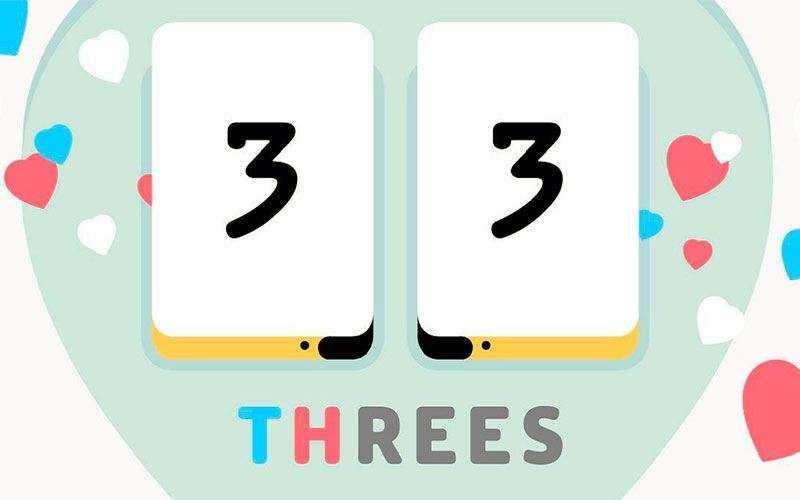 Игра Threes!