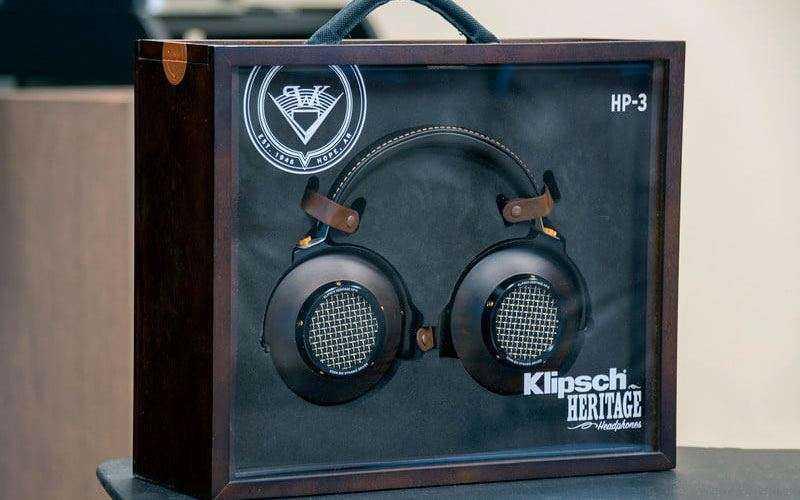 Klipsch Heritage HP-3 из коробки