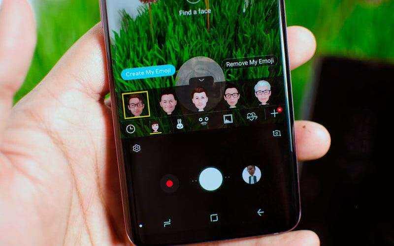 Эмоджи в Samsung Galaxy S9