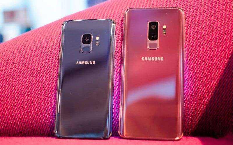 Камеры Samsung Galaxy S9 и Galaxy S9 Plus
