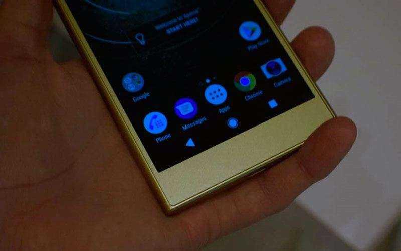 Интерфейс Sony Xperia L2