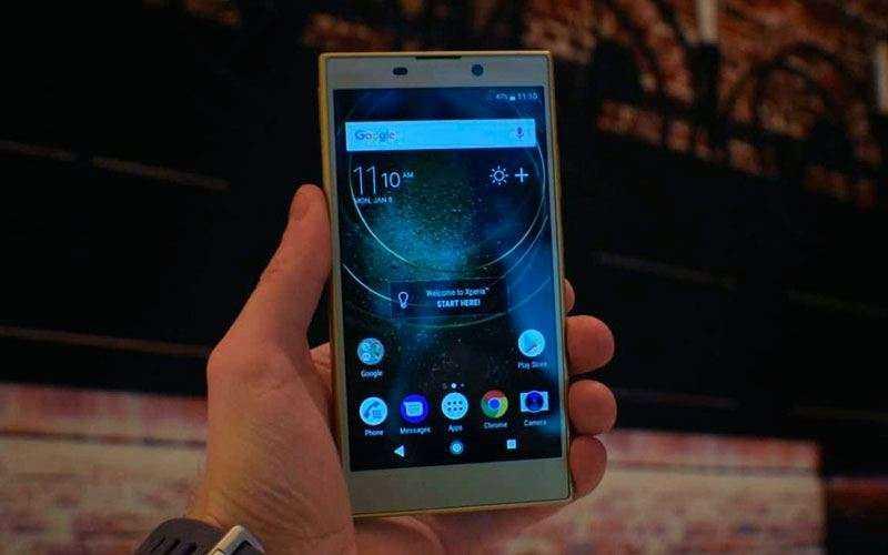 Тест Sony Xperia L2