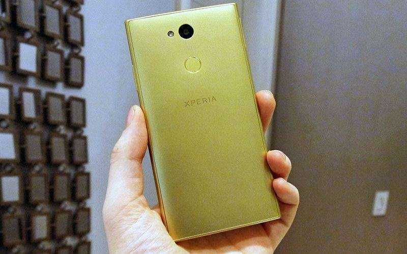 Дизайн Sony Xperia L2