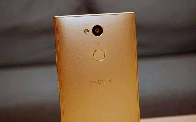Sony Xperia L2 камеры